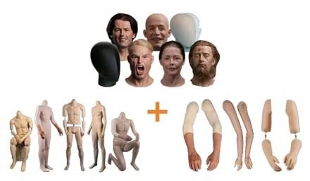 Erstellen Sie Ihren eigenen einzigartigen Museumsfiguren