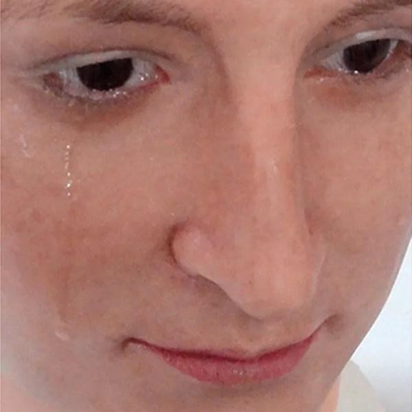 Tears silicone heads