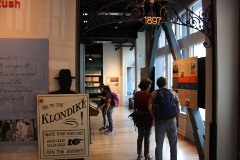 Klondike Gold Rush Entrance