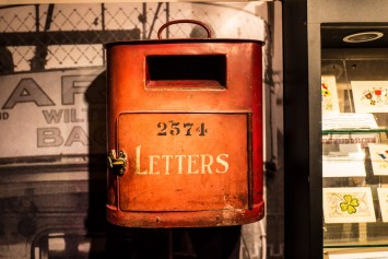 Bath Postal Museum Post Box
