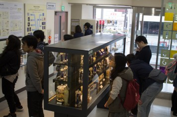 Meguro Parasitological Museum visitors
