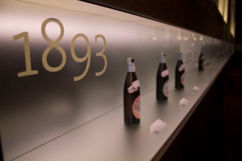 Yebisu Beer Museum timeline case (2)