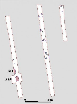 Fig. 3 Plantegning, kopi