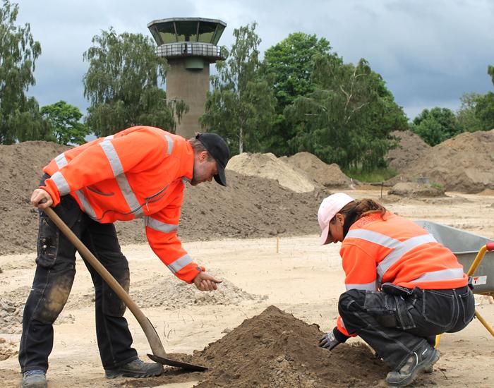 Flyvestation Værløse arkæologisk udgravning