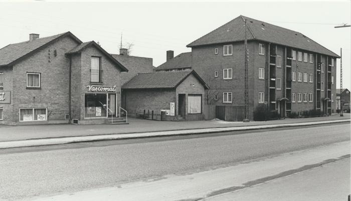 ejendom på hjørnet af Ellevej og Usserød Kongevej