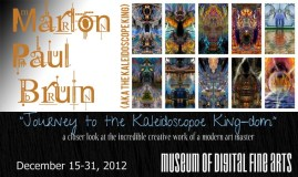 MoDFA Solo Art Exhibition 2012 - featuring Marlon Bruin