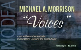 Michael A. Morrison solo exhibition