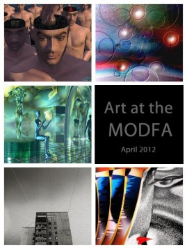 April 2012 Art Exhibition featuring: Heike Schenk Arena, Tom Repasky, Nikolay Semyonov, Suresh Saraswat, Stephen A. Zimmerman