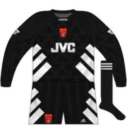 1993-94 Arsenal goalkeeper