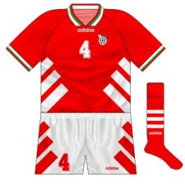 1994-96 Bulgaria away