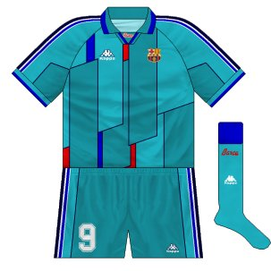 premium selection 1f5cb 54613 Barcelona: the Kappa years – Museum of Jerseys