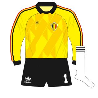 adidas-belgium-yellow-goalkeeper-shirt-jersey-1988-preudhomme