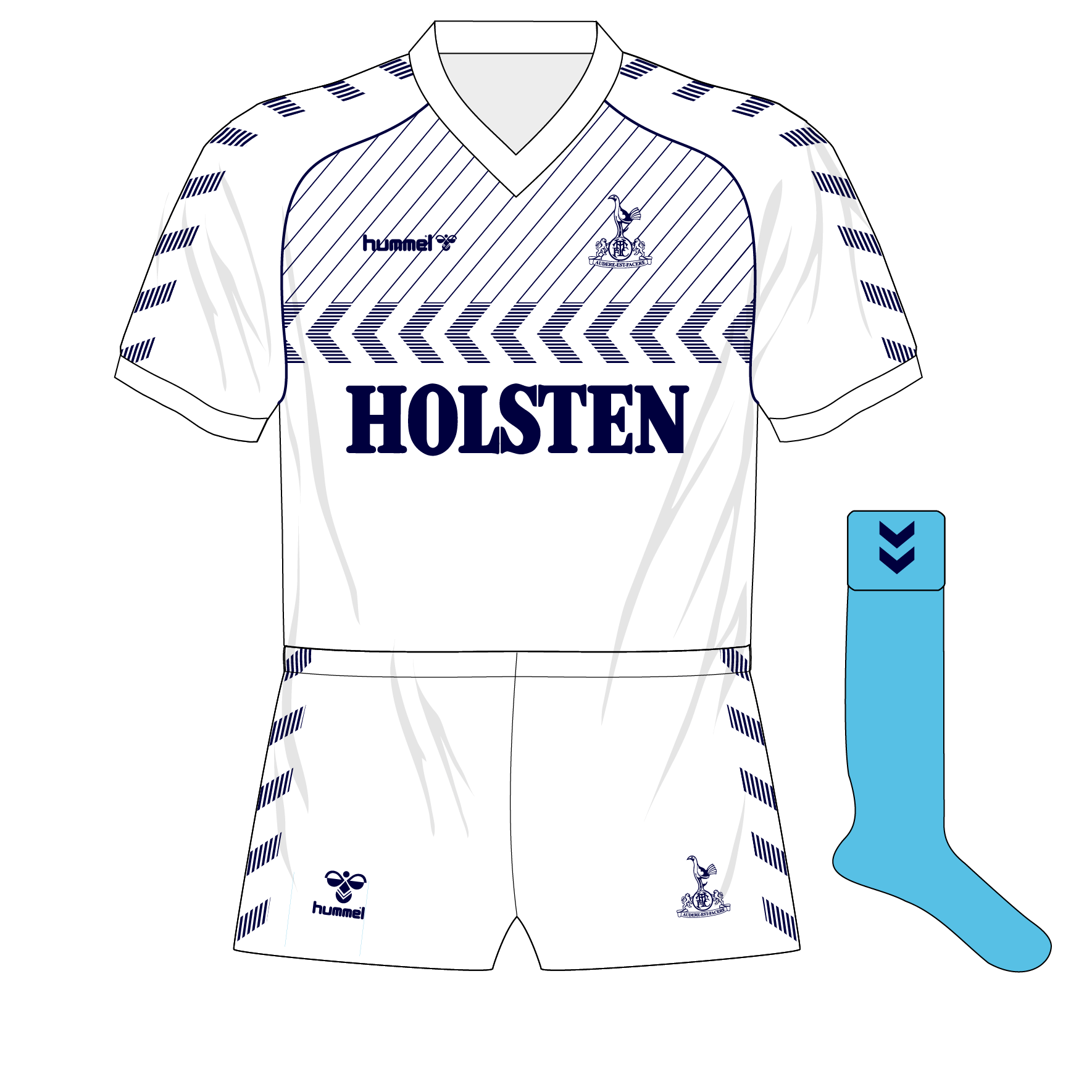 a8e9fe08bce Tottenham Hotspur  the Hummel years – Museum of Jerseys