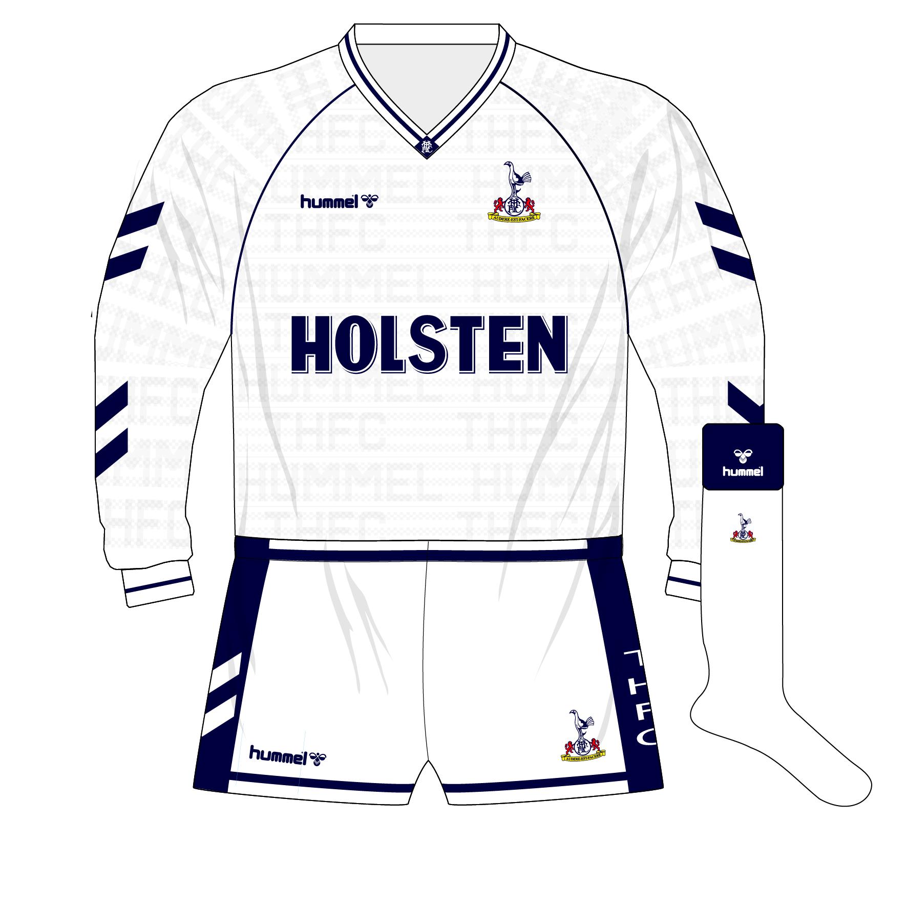 Roma 86-87 Replica Home Shirt