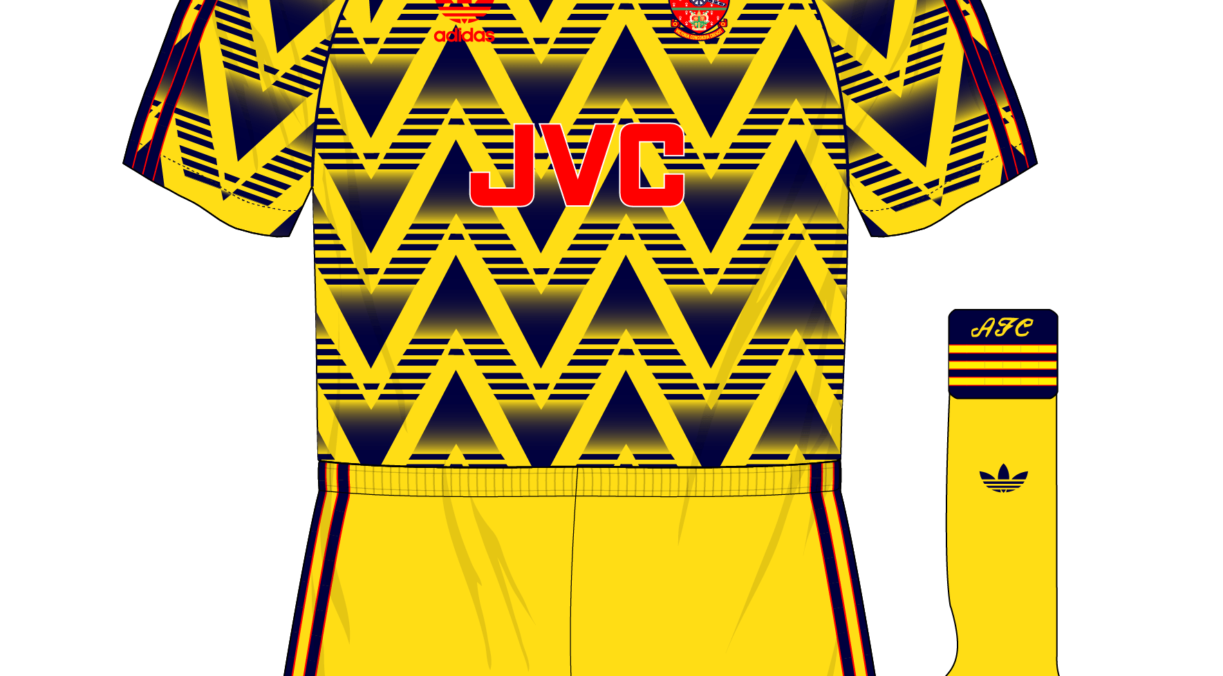 wholesale dealer b1ccc f278b Midweek Mashup – Arsenal, 1991-92 – Museum of Jerseys