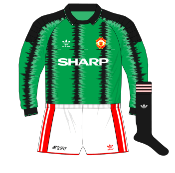 adidas-Manchester-United-green-goalkeeper-shirt-jersey-1990-1991-Les-Sealey