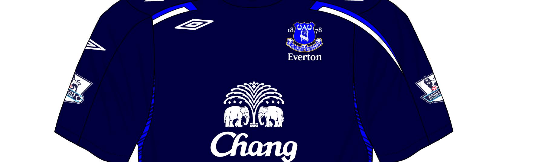new style b3c33 2b1e9 Midweek Mashup – Everton, 2007 – Museum of Jerseys