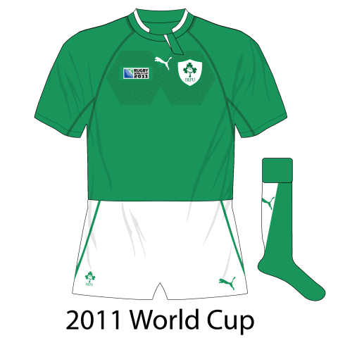 Ireland rugby jersey history, 1987-2017 – Museum of Jerseys