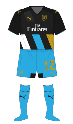 Arsenal-2015-2016-Puma-third-kit-blue-shorts-socks-Sheffield-Wednesday-01