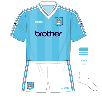 Archeologico Gregge Cimitero  Fantasy Kit Friday, 24-11-17 – Manchester City adidas 1995 – Museum of  Jerseys