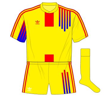 Romania-adidas-1991-home-Scotland