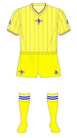 Chelsea-1981-1983-Le-Coq-Sportif-away-shirt-yellow-shorts-01
