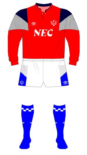 Everton-1989-Umbro-goalkeeper-shirt-red-Sheffield-Wednesday-01
