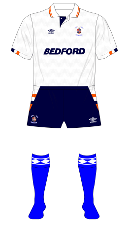Luton-Town-1989-1990-Umbro-home-kit-blue-socks-Charlton-01