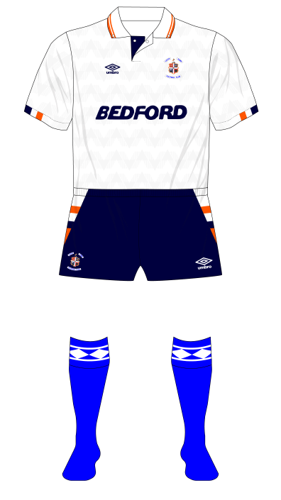 Luton-Town-1989-1990-Umbro-home-kit-blue-socks-Charlton-01
