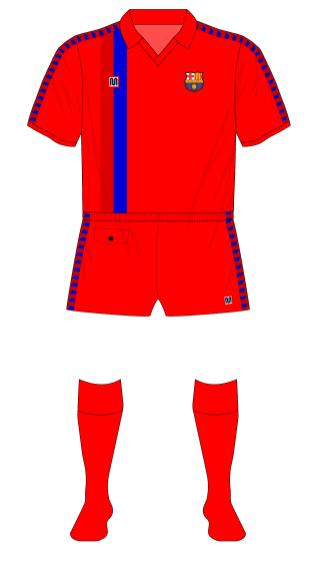 Barcelona-1989-Meyba-camiseta-roja-Lech Poznan-01
