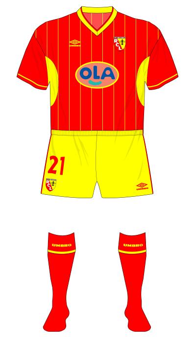 RC-Lens-1999-2000-Umbro-maillot-domicile-UEFA-Cup-Arsenal-01