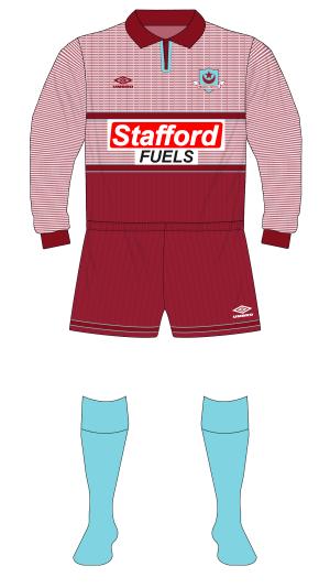 Drogheda-United-1996-1997-Umbro-home-kit-Manchester-United-grey-Stafford-Fuels-01