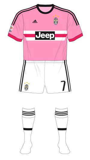 Juventus-2015-2016-away-maglia-pink-white-shorts-socks-Sassuolo-01