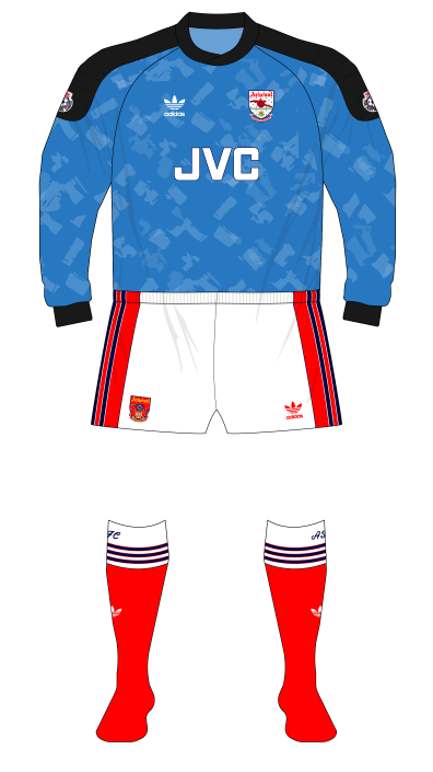 Arsenal-1990-1991-adidas-goalkeeper-shirt-blue-Seaman-Norwich-01