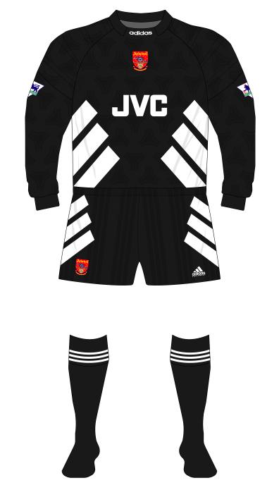 Arsenal-1993-1994-adidas-goakeeper-black-Seaman-01