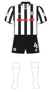 Rochdale-2017-2018-Errea-away-shirt-white-socks-Millwall