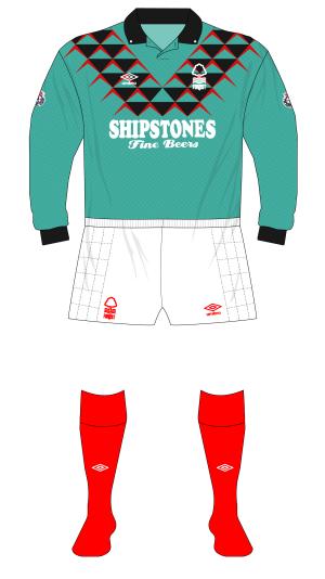 Nottingham-Forest-1991-1992-Umbro-goalkeeper-shirt-Crossley-padded-shorts-01