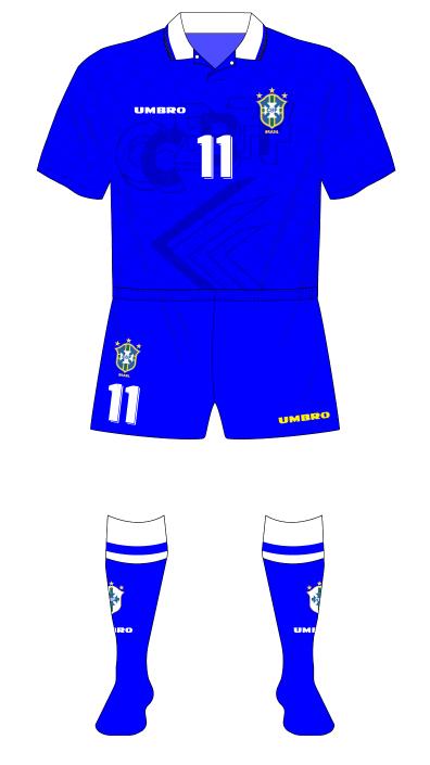 Brazil-1994-Umbro-away-shirt-blue-shorts-Brazil-01