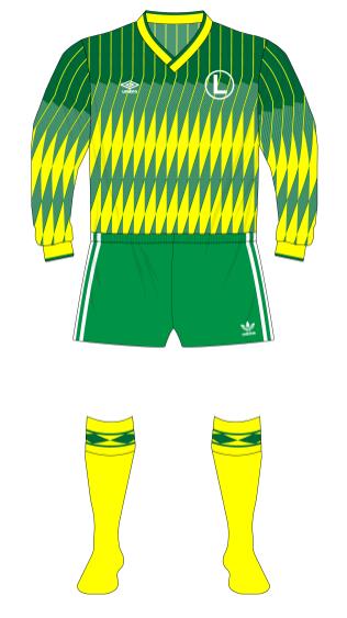 Legia-Warsaw-1991-Umbro-green-yellow-01