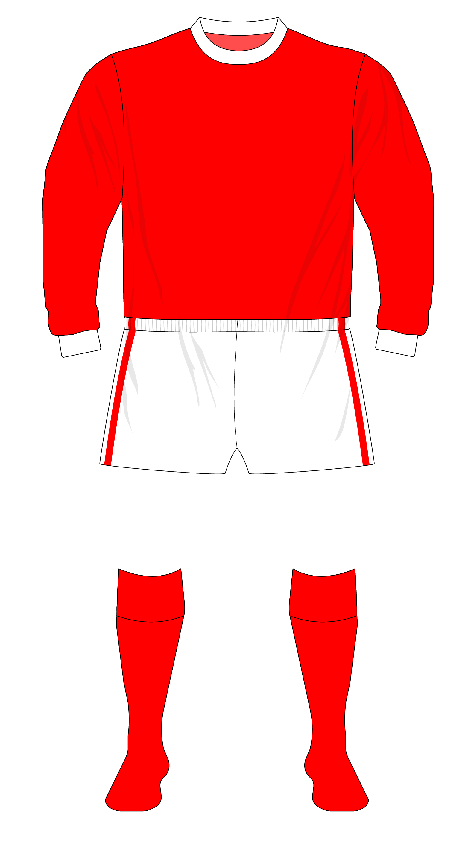 5766b1751d4 How Arsenal s return to white sleeves inadvertently led to the creation of  an FA Cup kit – Museum of Jerseys