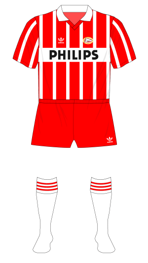 PSV-Eindhoven-1989-1990-adidas-home-stripes-red-shorts-Vitesse-01