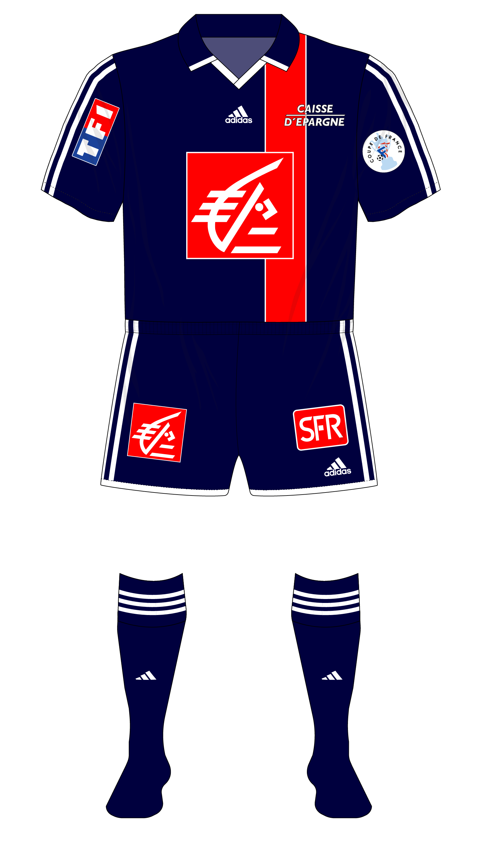 Paris St Germain's adidas cup runneth over – Museum of Jerseys