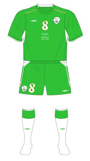 Republic-of-Ireland-2004-Umbro-home-kit-green-shorts-white-socks-France-01