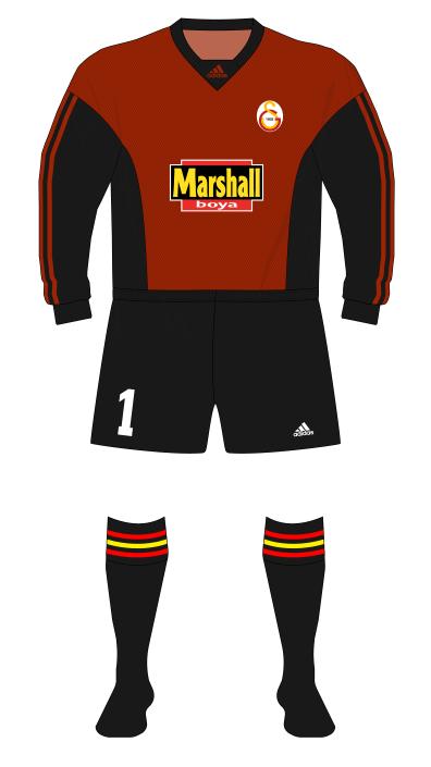 Galatasaray-1999-2000-adidas-goalkeeper-Taffarel-red-01