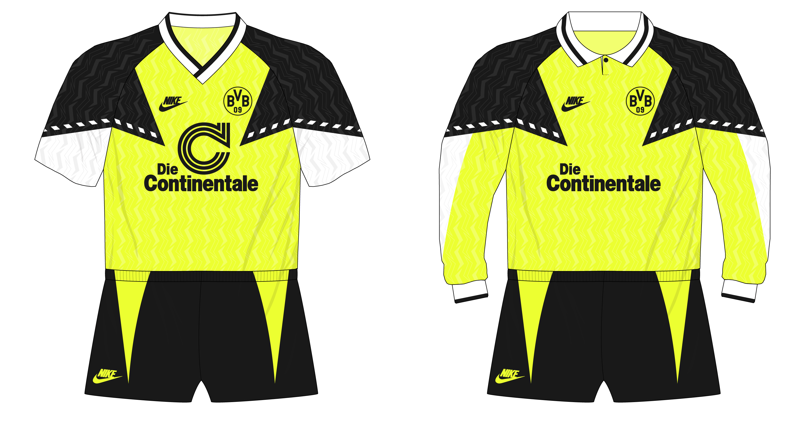 save off 29fa2 ada69 Bundesliga Classics – Borussia Dortmund's first Nike kit ...