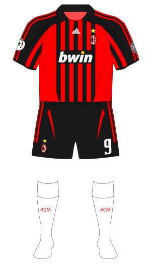 new product 8c3d3 5ab82 The varying kit combinations of the Milan derby – Museum of ...