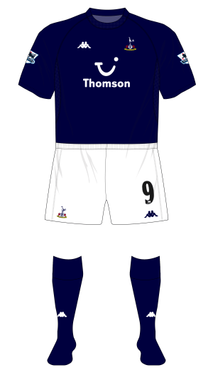 reputable site 83706 b375b Season in kits – Tottenham Hotspur, 2004-05 – Museum of Jerseys