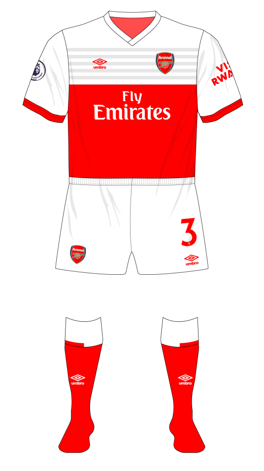 Arsenal 2019 Umbro Fantasy Kit Friday West Ham Red Socks 01 Museum Of Jerseys