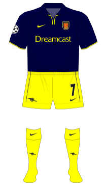 Arsenal-2001-2002-Nike-third-kit-Mallorca-yellow-shorts-socks-01