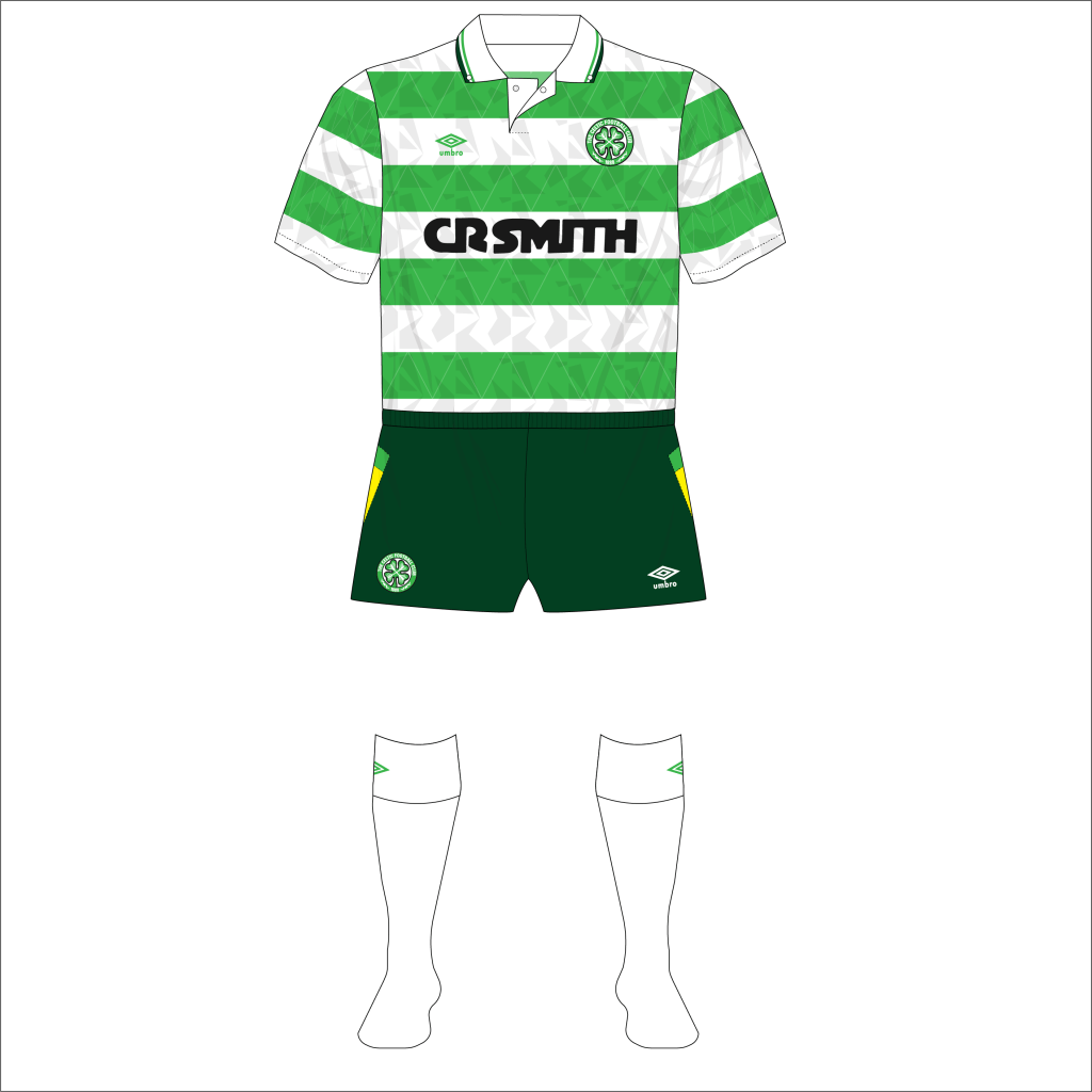 Celtic-1991-Umbro-home-green-shorts-Arsenal-01